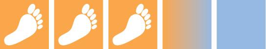 Les symboles-pieds
