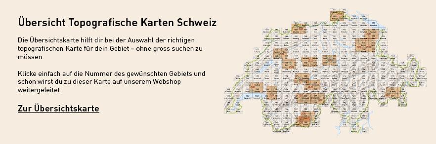 Uebersicht Topografische Karten