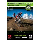 Supertrail Map Zermatt 1:25'000